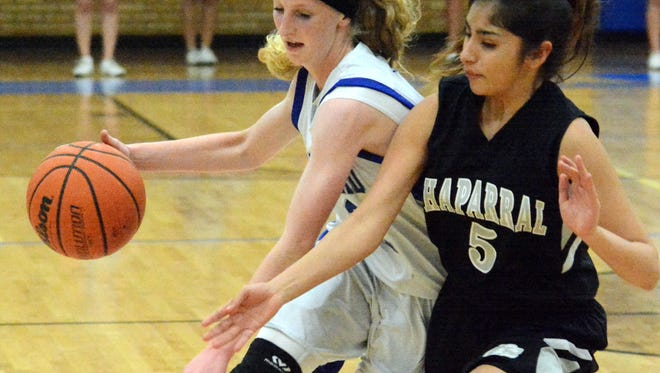 Carlsbad freshman guard Carsyn Boswell was named to New Mexico's first all-state 6A girls basketball team.