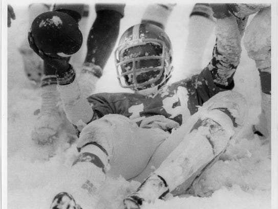 FSU played at North Texas State in 1976 on a snow-covered