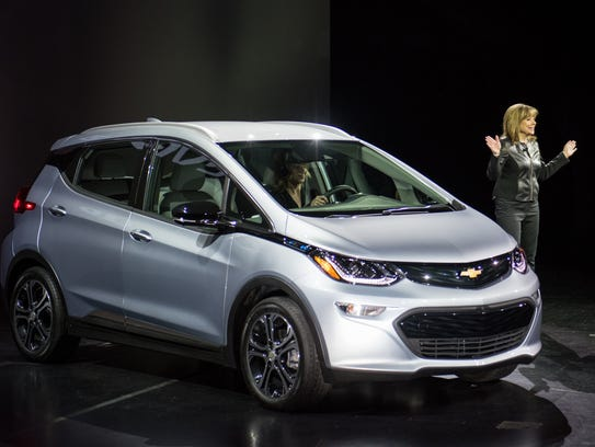 General Motors Chairman and CEO Mary Barra introduces