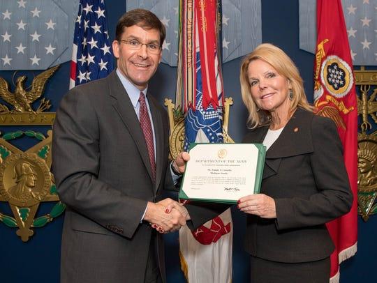 Secretary of the Army Mark T. Esper and Detroit Regional