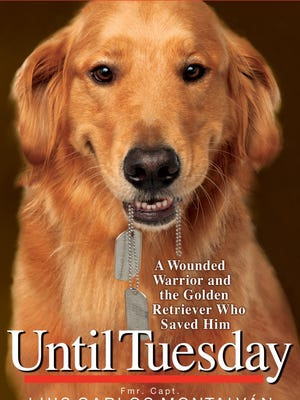 Capt. Luis Carlos Montalván's best-selling book about his golden retriever service dog, Tuesday and how she changed his life.