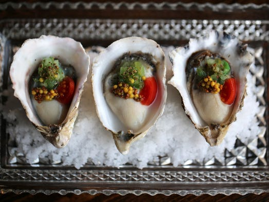 Chicago-style Hollywood oysters from Detroit's Grey