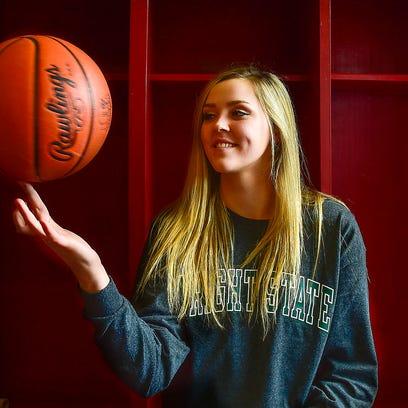 Pleasant senior basketball player Summer Blevins was