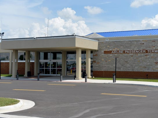 The Shenandoah Valley Regional Airport in Weyers Cave.