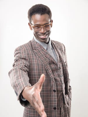 "Darnell Pierre Benjamin will play the leading role of John Prentice in Cincinnati Shakespeare Company's January, 2018 production of ""Guess Who's Coming to Dinner,"" by Todd Kreidler, based on William Rose's screenplay. Performances will take place in CSC's new home, The Otto M. Budig Theater, at 1195 Elm St. in Over-the-Rhine."
