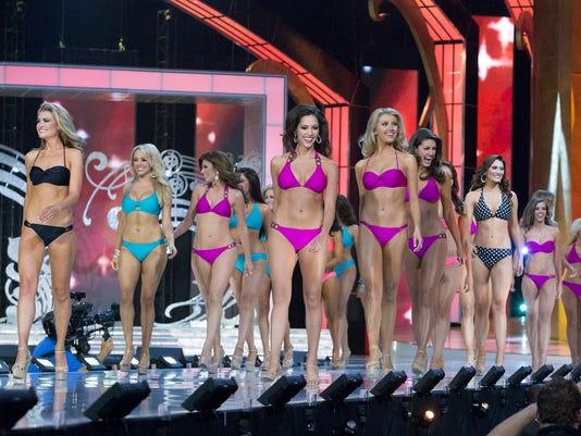 Miss America contestants