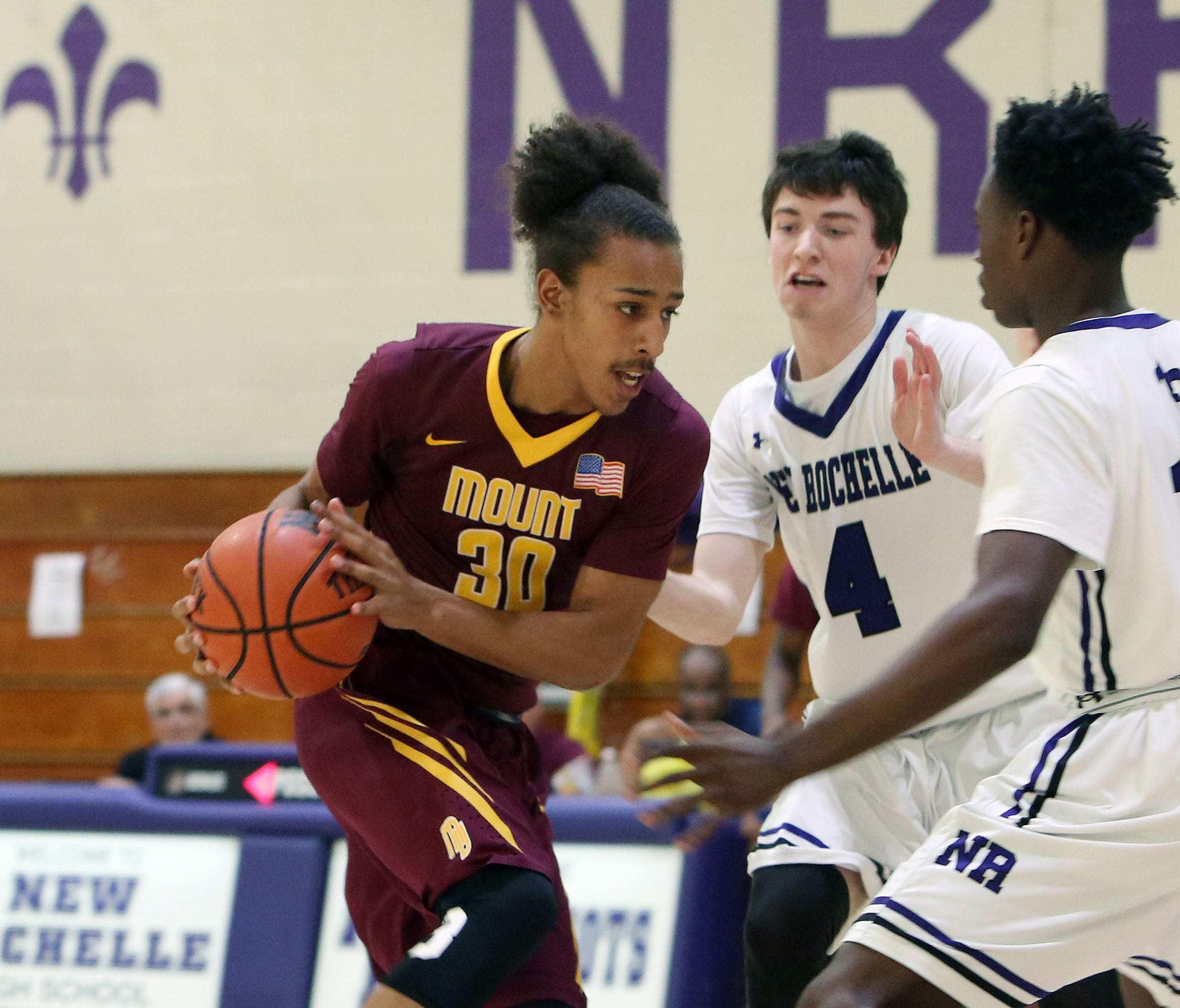 Boys Basketball Mount Vernon Scarsdale Breeze In Class Aa Quarterfinals