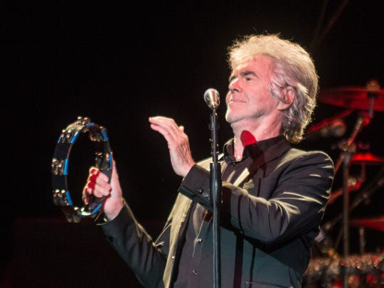 Danny Hutton of Three Dog Night performs Thursday, Aug. 25, 2016, at the Montgomery Performing Arts Centre. Shannon Heupel/Advertiser