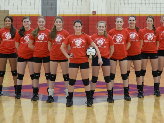 Seton Catholic's volleyball team won the first sectional