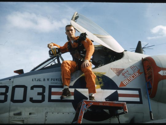 """Capt. Gene Cernan, former Pensacola Naval Air Station flight student and NASA astronaut, will be honored at an exclusive filming of """"The Last Man on the Moon"""" Nov. 4 at the National Naval Aviation Museum."""