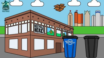 Programs target kids to boost recycling in Detroit