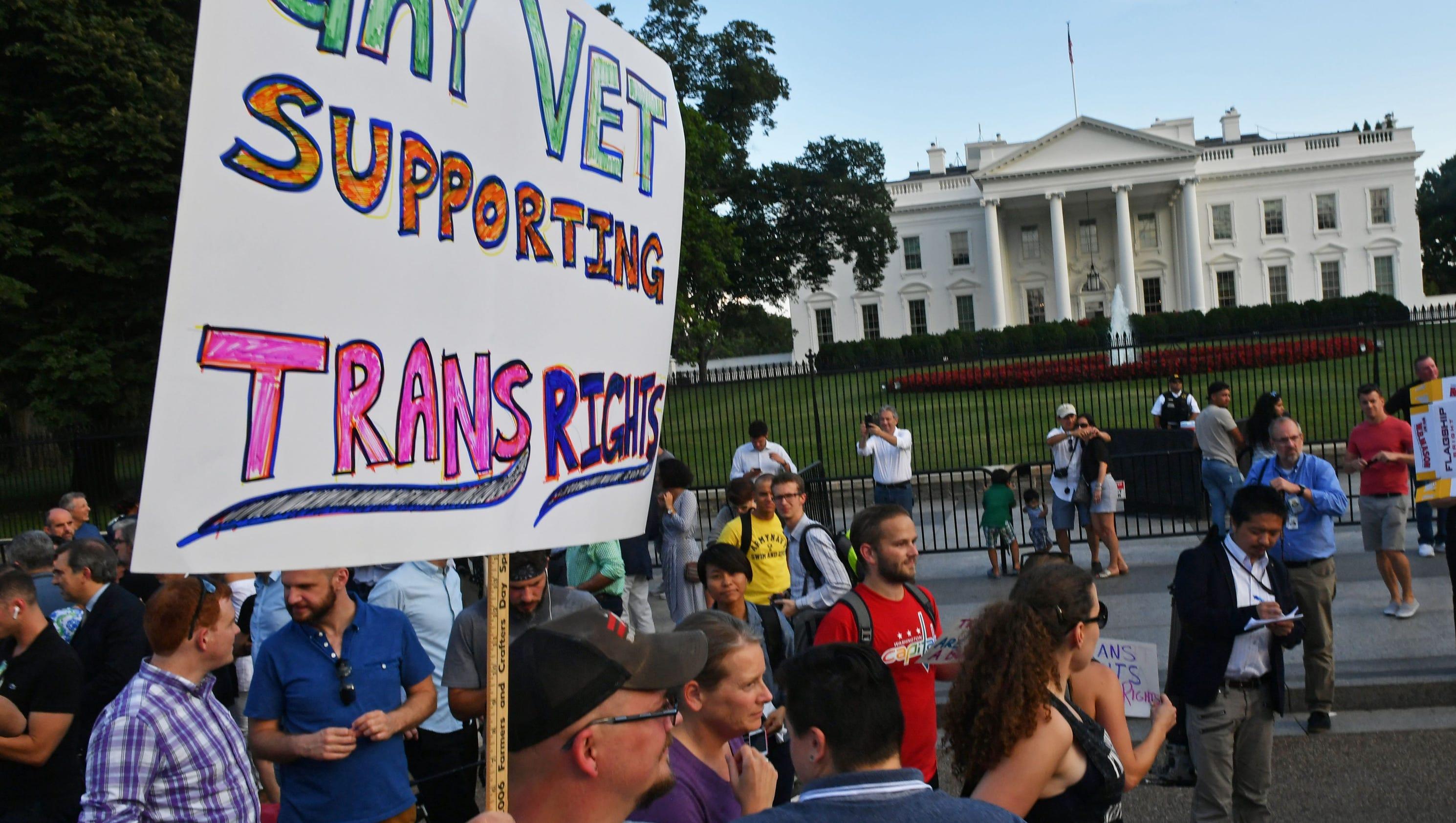 Navy: Transgender sailors can still serve and get medical treatment until further notice