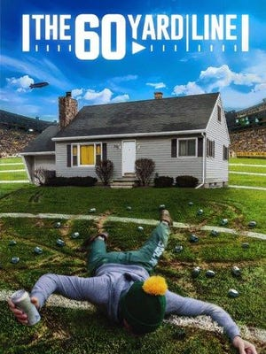 """""""The 60 Yard Line,"""" the romantic comedy filmed in Green Bay and set against a Packers backdrop, is finished and awaiting film festivals and distribution. Green Bay native Logan Sprangers designed the poster."""