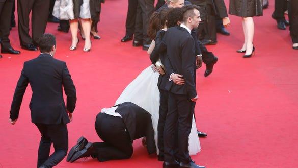 America Ferrera dress in Cannes