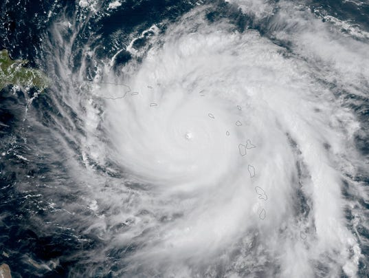 EPA SPACE CARIBBEAN WEATHER HURRICANE MARIA WEA WARNINGS --- CA