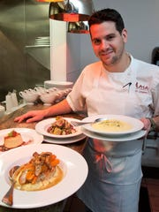 Chuck Lesbirel is executive chef at Ama Restaurant
