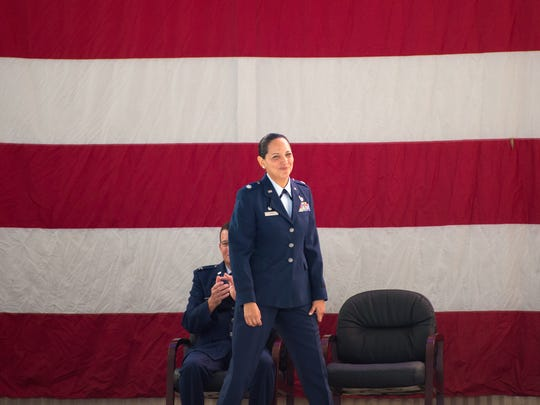 Lt. Col. Susana Corona Smith assumes command of the