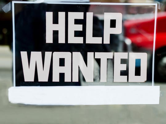 Help Wanted Sign With Space For Own Text