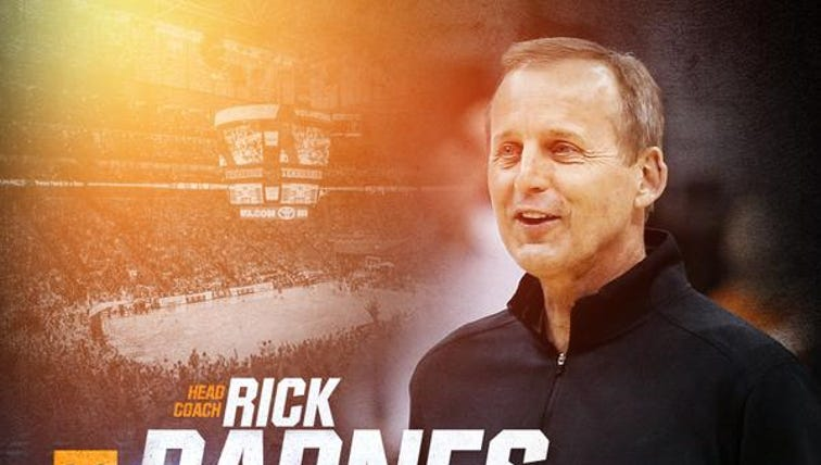 #VolNation, please join us in welcoming Rick Barnes