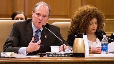 Sen. Doug Overbey, R-Maryville, will sponsor Gov. Bill Haslam's health care plan in the senate, instead of Senate Majority Leader Mark Norris.
