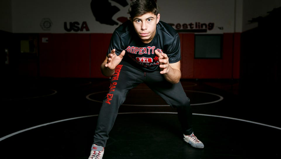 North Salem sophomore Ian Carlos is undefeated this