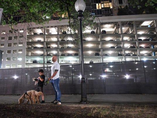 Florida evacuees at Atlanta weather