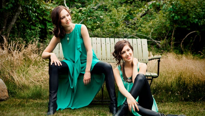 The Naughton sisters performed Nov. 19 and 20 with the Milwaukee Symphony Orchestra.