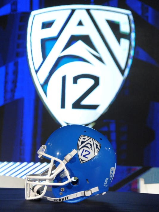 USP NCAA FOOTBALL: PAC-12 MEDIA DAY S FBC USA CA
