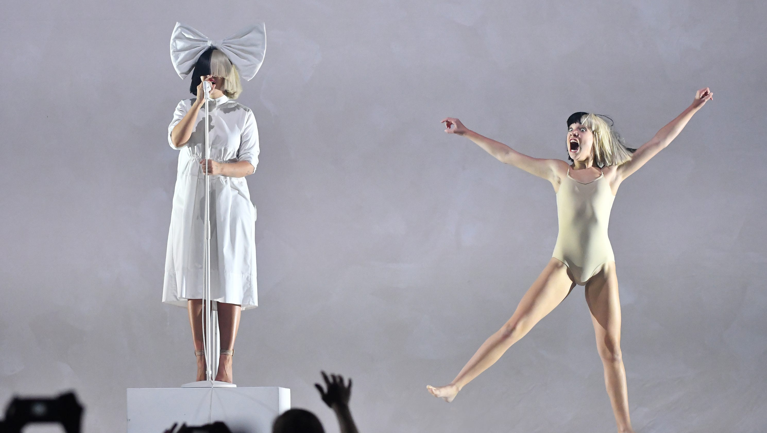 Sia performs at the Palace