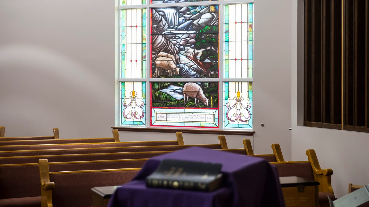Located in Lineboro, Maryland, Lazarus United Church of Christ has re-opened in a new building after the original structure burned down in 2013.