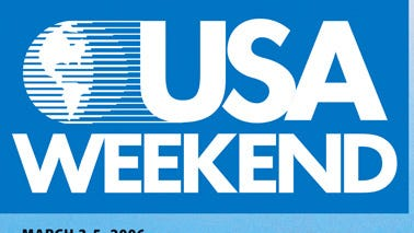 USA Weekend magazine cover.