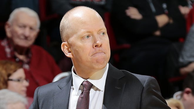 Cincinnati Bearcats head coach Mick Cronin paces the sideline in the second half.