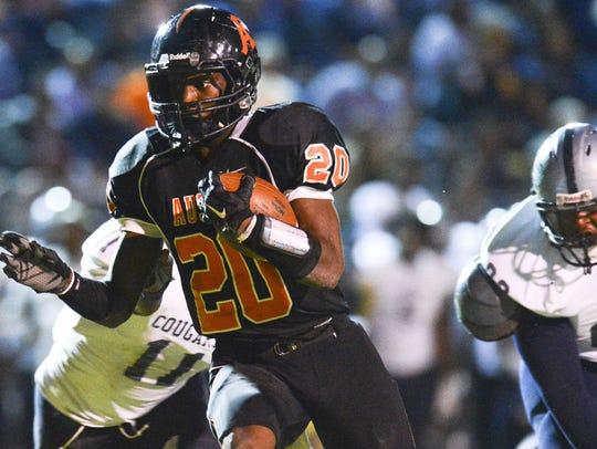 Austin High School four-star running back Asa Martin