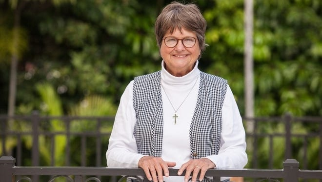 """Sister Helen Prejean, author of """"Dead Man Walking,"""" will speak at 6:30 p.m. Friday, April 8, in Room W10 of the Pappajohn Business Building on the University of Iowa campus."""
