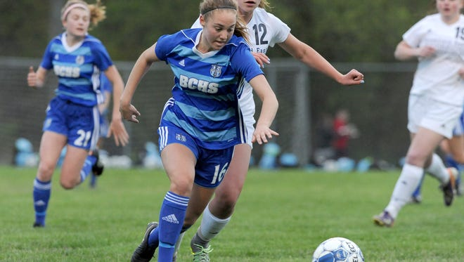 All-state midfielder Sarah Knopp is one of 15 players back to help Brookfield Central defend its Division 1 state title.