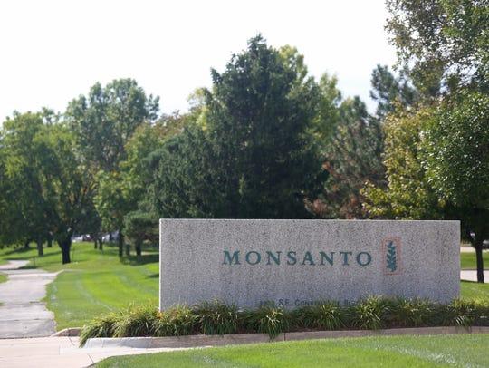 A Monsanto location in Ankeny.