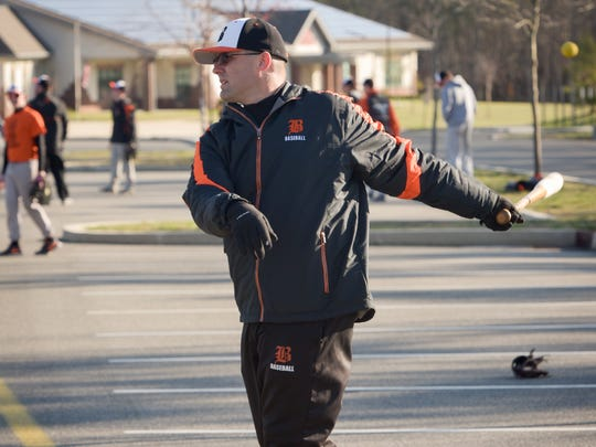 Barnegat baseball coach Dan McCoy is happy to have pitcher Jason Groome back at Barnegat this season.