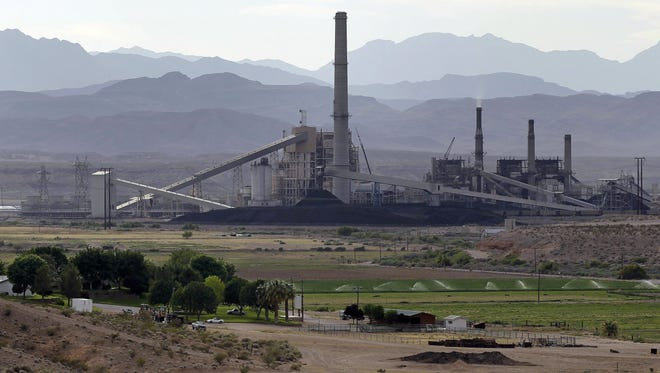 The Reid-Gardner power station on the Moapa Indian Reservation in Nevada is among a number of coal-powered plants that help provide about one-third of the nation's electricity.