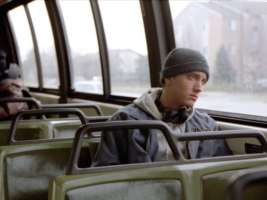 Eminem in a scene from '8 Mile.'