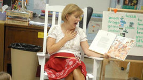 Principal Patty Salyer is retiring from Middletown Elementary School (photo from 2010)