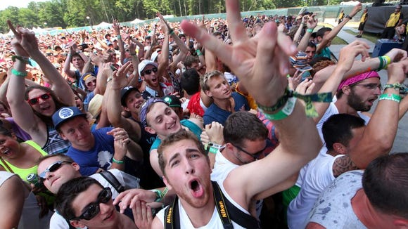 Fans at Firefly 2013.