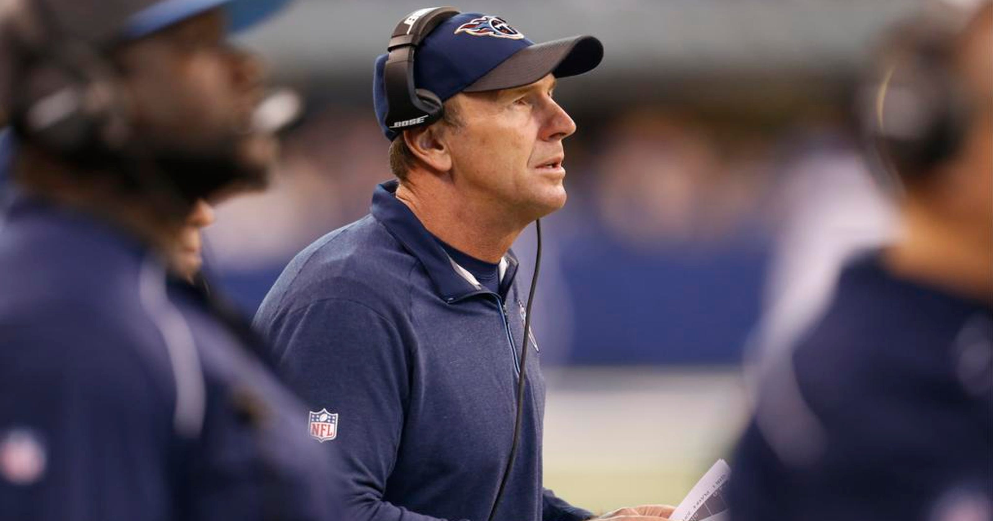 7897c71d30b Mike Mularkey named Titans head coach