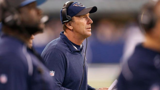 Titans interim coach Mike Mularkey guided the team to a 2-7 record after Ken Whisenhunt was fired Nov. 3.