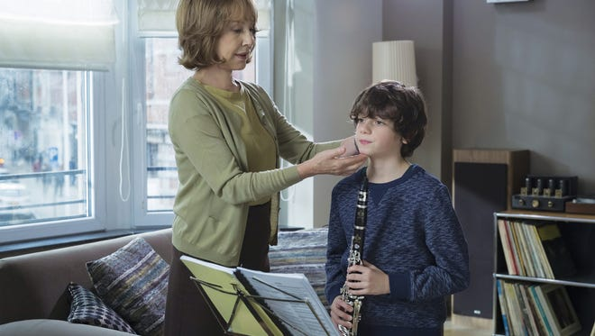 """Nathalie Baye in """"The Assistant."""""""