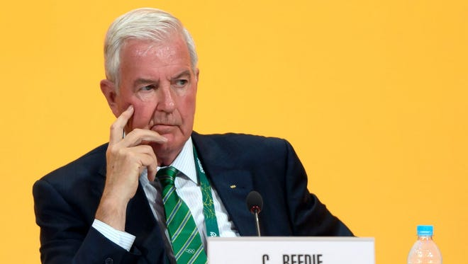 The IOC is backing Craig Reedie's bid for a new three-year term as president of the World Anti-Doping Agency.