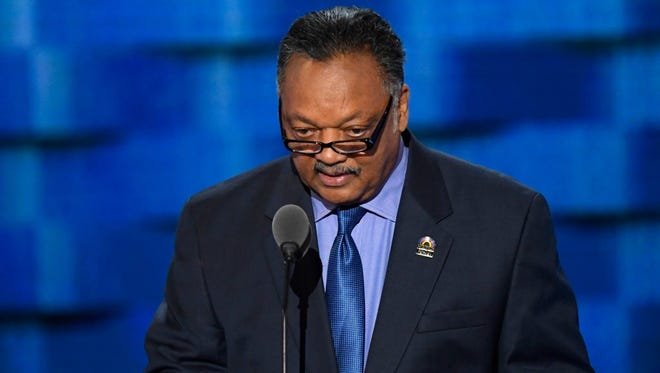 """Rev. Jesse Jackson called Clemson's fast-food dinner at the White House """"disgraceful."""""""