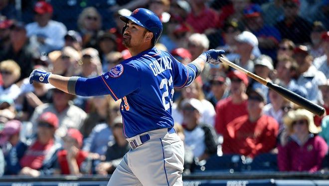 Mets first baseman Adrian Gonzalez