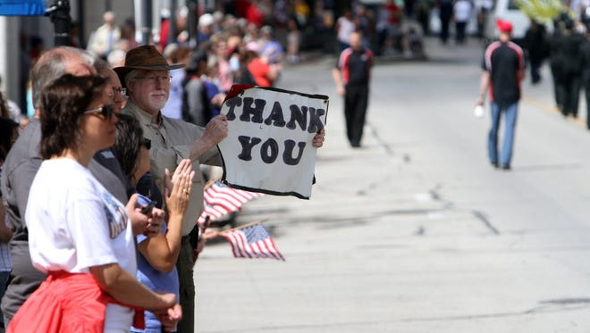 A Memorial Day parade starts at 10:15 a.m. in Waukesha.