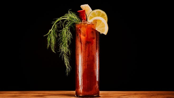 A nonalcoholic coffee Bloody Mary that plays off the coffee's flavor will be served at pop-ups June 3 and 4 for Uncle Wolfie's Breakfast Tavern. The brunches serve as a preview for the restaurant, opening in fall in Brewers Hill.