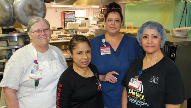 The Lincoln County Medical Center food service staff is ready to serve.